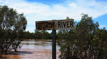 The Mighty Fitzroy River.