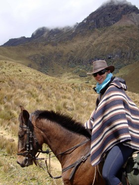 I spent 3 days riding Tostado.......and although all the horses I rode in Ecuador were amazing, Tostado had a ittle something special.