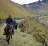 Over the hills and far away.........! Homeward bound after six days exploring the remote Andes.