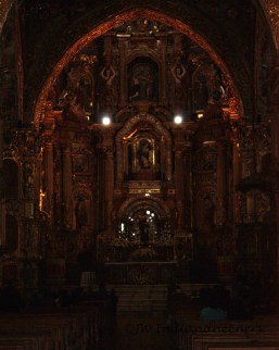 Quito's old town is home to over 200 Churches, Convents and Monasteries.
