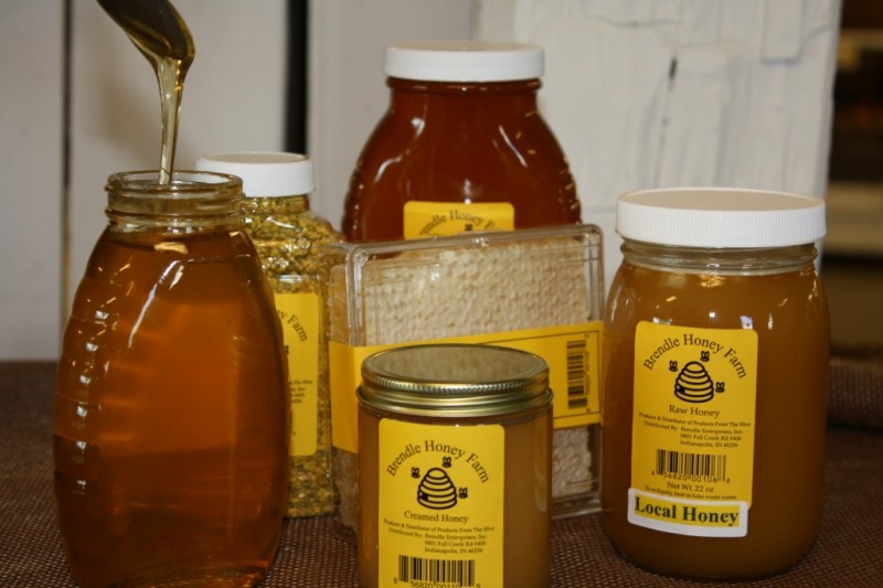 Local Honey from Indiana Hives