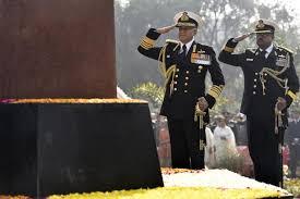 Admiral Sunil Lanba pays Homage to Martyrs at Noida Shaheed Smarak-Indian Bureaucracy