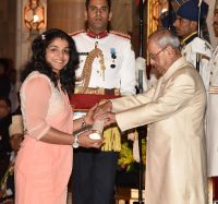 Padma Shri Award to Ms. Sakshi Malik -IndianBureaucracy