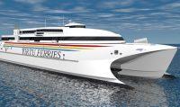 High-Speed Catamaran in the Mediterranean-indianbureaucracy