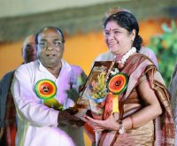 Yogamaya Acharya, first Lady of NLC India honoured with prestigious-indianbureaucracy