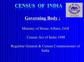 General & Census Commissioner India