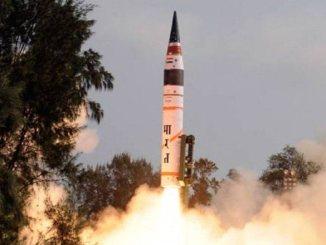 Prithvi-II missile