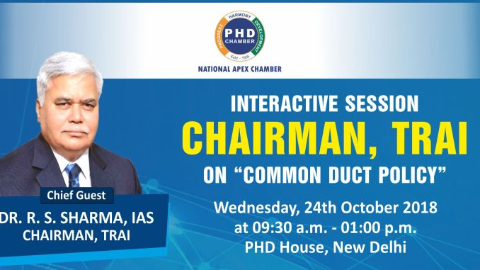 Interactive Session With Chairman, TRAI