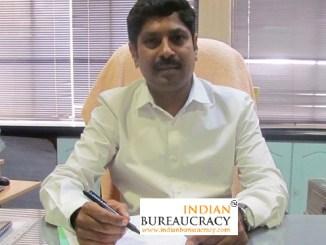 M K Shanmuga Sundaram IAS