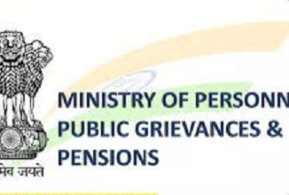 Ministry of Personnel, Public Grievances & Pensions
