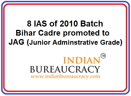 8 IAS promoted to JAG