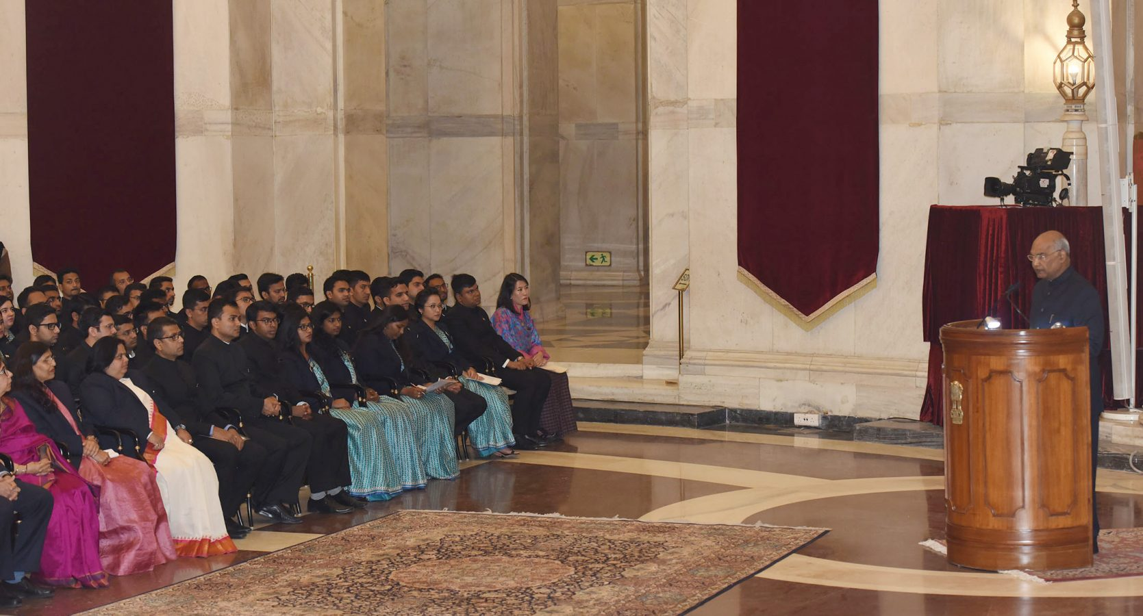 IRS Officer Trainees call on the President