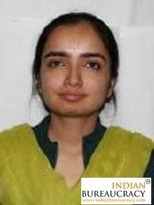 Tanvi Hooda IAS