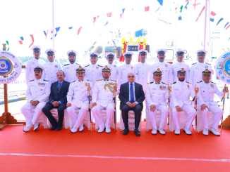 Commissioning of Indian Coast Guard Vessel C-441