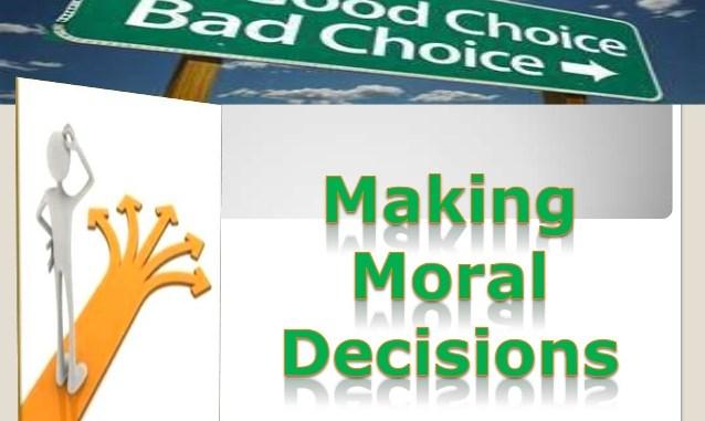 How do we make moral decisions?