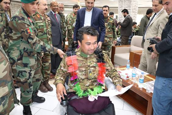 Indian medical assistance to Afghan National Army