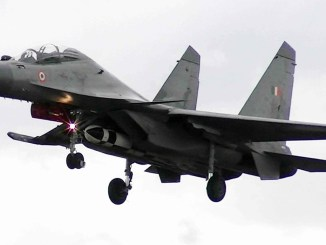 Firing of Brahmos Air Launched Missile from Su-30 MKI Aircraft