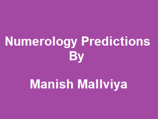 Manish Mallviya ,Predictions Celebrities Numerologist,Tarot Reader