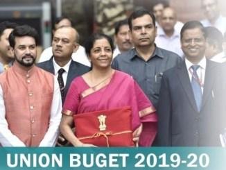 Highlights of Union Budget 2019-20