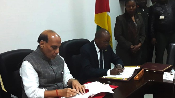 India and Mozambique Sign Two MoUs to Further Strengthen Defence