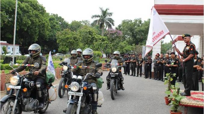 Bombay sappers bicentenary Motorcycle Expedition