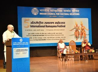 Amit Shah presides over the 5th International Ramayan Festival as Chief Guest