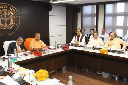 Fifteenth Finance Commission holds meeting with the Government of Uttar Pradesh