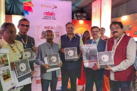 Amit Khare launches NFAI Calendar 2020