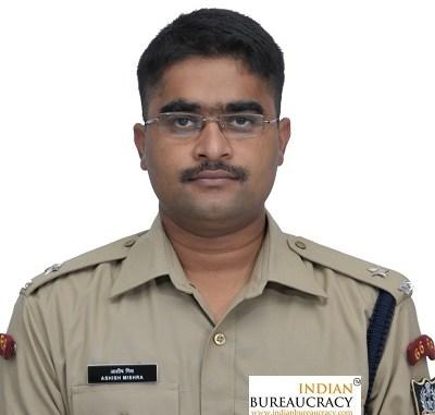 Ashish Kumar Mishra IPS JK