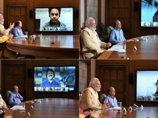 PM interacts with Radio Jockeys