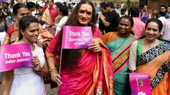 Status on upliftment of Transgenders