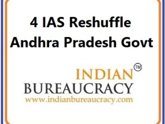 4 IAS Transfer in Andhra Pradesh Govt