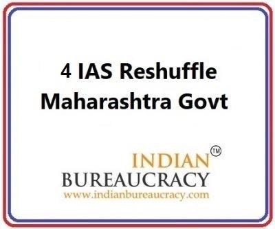 4 IAS Transfer in Maharashtra Govt