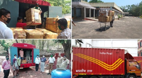 Department of Posts to deliver essential items