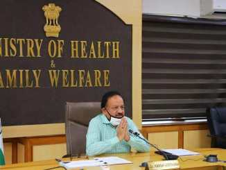 Harsh Vardhan holds video conference with Rotary International