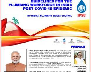 Skill India provides list of 900 certified plumber