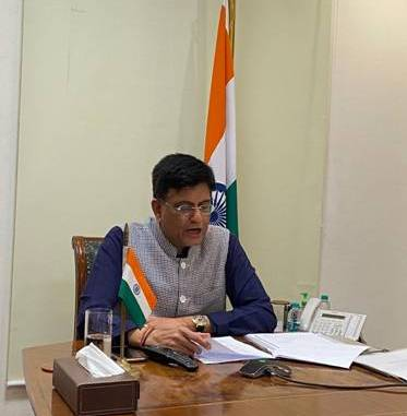 Commerce and Industry Minister Shri Piyush Goyal holds meeting with the industry and trade associations
