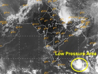 Low Pressure area over south Andaman Sea & adjoining sout