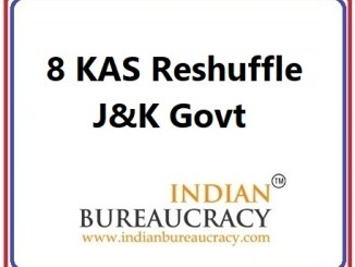 8 KAS Transfer in J&K