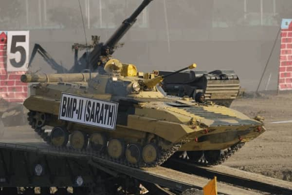 MoD places indent for supply of 156 upgraded BMP Infantry Combat Vehicles of value Rs 1,094 Cr on OFB