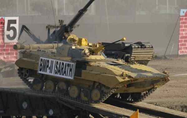 MoD places indent for supply of 156 upgraded BMP Infantry Combat Vehicles of value Rs 1,094 Cr on OFBMoD places indent for supply of 156 upgraded BMP Infantry Combat Vehicles of value Rs 1,094 Cr on OFB