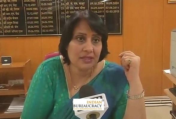 Saleena Singh IAS MP