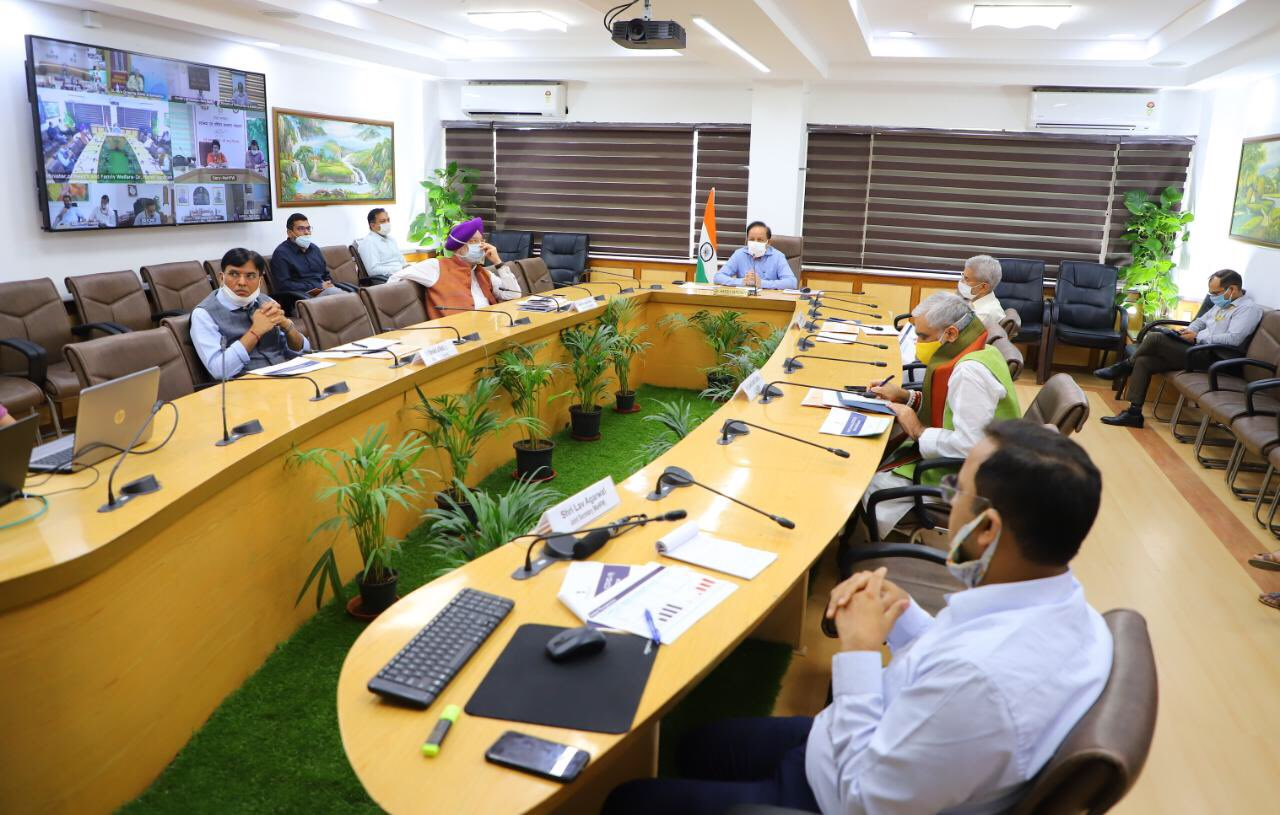 Health Minister chairs 18th meeting of Group of Ministers