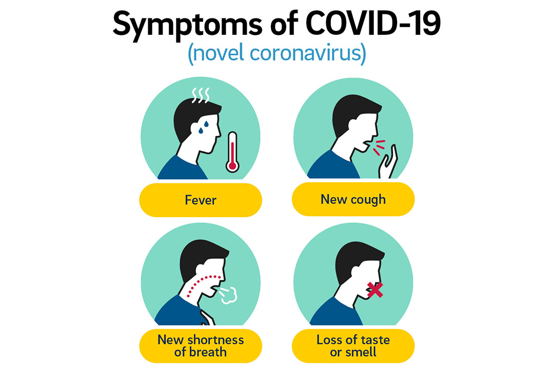 Loss of smell and taste validated as COVID-19 symptoms