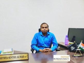 Sibi Adhithya Senthil Kumar IAS TN