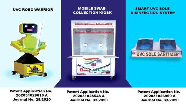 Industrial Training Institute, Berhampur files 3 Patents