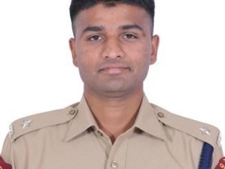 Kiran Kumar Gorakh Jadhav IPS Bihar 2016