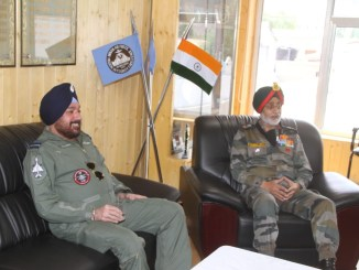 Visit of Vice Chief of Air Staff to Forward Bases in Ladakh Region