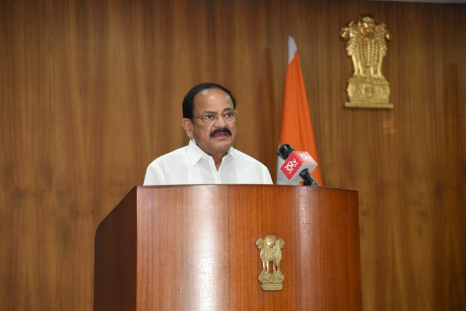 vice President expresses concern over growing pendency of cases at all levels of judiciary