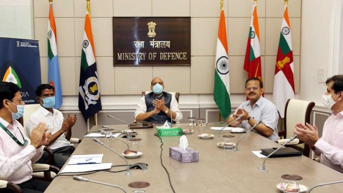 Rajnath Singh launches Aero India 2021